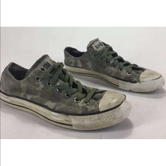 278fae1799840 Converse Shoes | Camouflage Primo Distressed | Poshmark